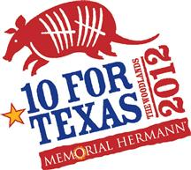10 For Texas logo
