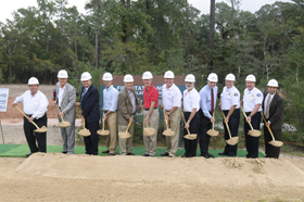 Fire Station 8 Groundbreaking