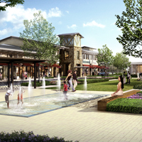Artist Rendering Creekside Village Green