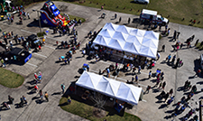 Aerial View of Touch a Truck