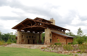Lodge at Rob Fleming Park