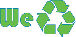 We recycle logo