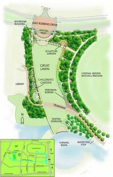 Town Green Park Map